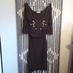 """Cute """"Final Touch"""" Enbroidered Dress"""